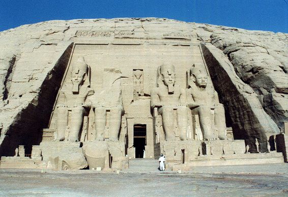 Der Große Tempel von Abu Simbel